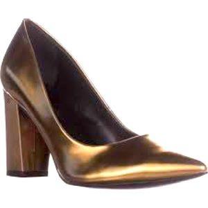 Marc Fisher Daniela Pointy Toe Block Heel Pumps